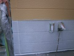 モダン仕上げの外壁塗装