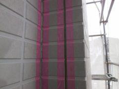 サイディング壁の外壁塗装