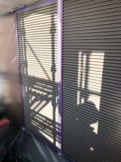 三木市 外壁塗装 雨戸塗装 シャッター塗装
