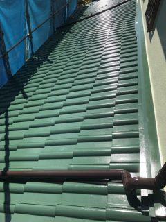 兵庫県三木市の屋根塗装(鉄部)