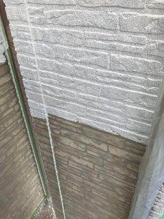 サイディング壁の外壁塗装2