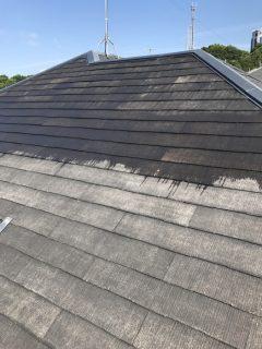 兵庫県明石市の屋根塗装(下塗り)