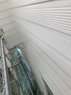 兵庫県明石市の外壁塗装(上塗り)と屋根塗装