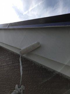 兵庫県三木市軒天、破風板、屋根塗装
