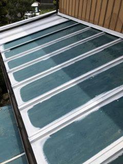 兵庫県丹波市瓦棒屋根の下塗り