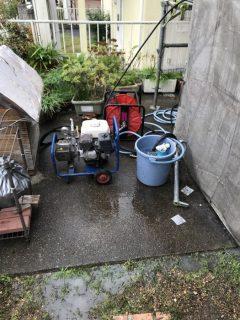 三木市屋根外壁塗装 高圧洗浄