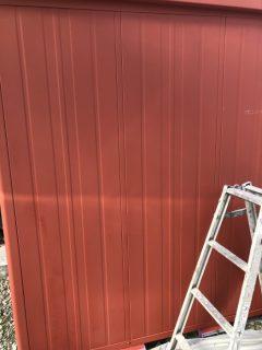 加東市 物置塗装