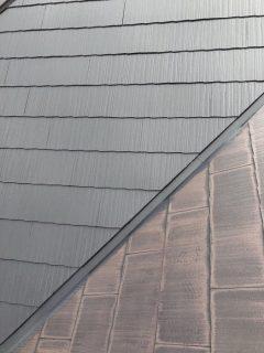神戸市 屋根 外壁上塗り一回目