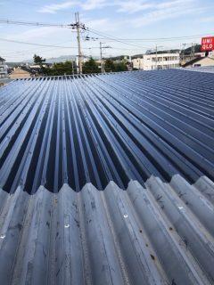 三木市 TSUTAYA 屋根塗装