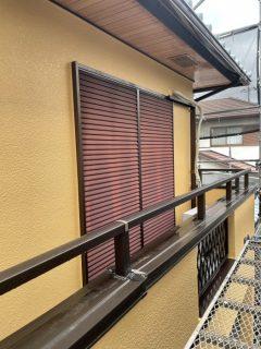 三田市 雨戸塗装