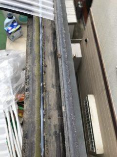 神戸市西区波板取り替え工事