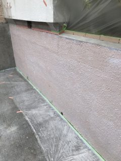 神戸市北区鈴蘭台塀塗装
