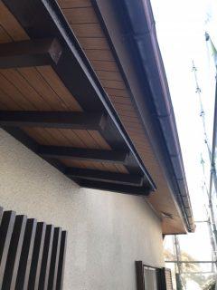 小野市外壁木部塗装